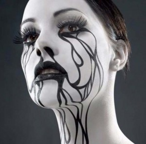halloween makeup6 300x296 Хелоуин
